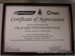 Christmas Gift Giving Appeal certificate; 2001; CVC 3