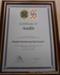 Municipal Emergency Management Plan certificate; 2012; CVC 81a