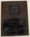 ALGWA Victorian Branch plaque.; 1994; CVP 25
