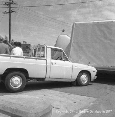 Car Accident; Graham Southam; 1969; 10.525.01