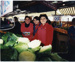 Stall women selling cabbage; Mark Wilson; 1998; CCPDM8