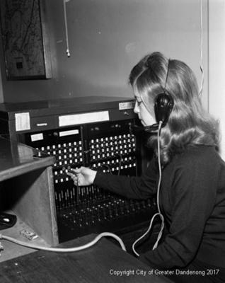 Switchboard Operator; Graham Southam; 1968; 10.1117.01