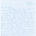 Correspondence - Letter to Ella Porter from Marcia Wall nee Taylor 4th February 1991; PH 92
