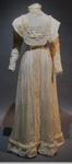 Bertha Oates' Wedding Dress; 1909