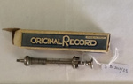 Small glass and metal syringe and box; Original Record; BC2015/33