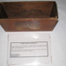Stained Wooden Box; Bloomfield Hospital; c1949; BC2015/90:1-2