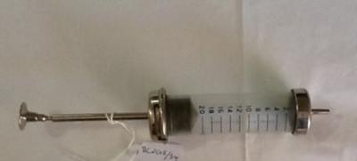 Large Surgical Syringe; Surqual; Circa 40's; BC2015/34