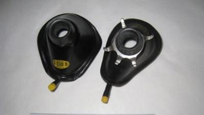 Pair Anaesthetic Masks; CIG Australia; BC2015/97:1-2