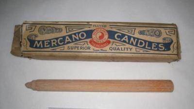 Box of Candles; Merchants Ltd Mercano Candles; BC2015/100
