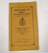 Booklet - Secretary's Report and Balance Sheet for the Returned Sailors' and Soldiers' Imperial League of Australia 1922; Advocate Print; 1922; OWM2015/46