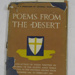 "Book ""Poems from the Desert - Verses by Members of the Eighth Army""; George Harrap Co Ltd; June 1944; OWM2015/89"