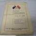 Programme; Central Western Daily; 1946; OWM2015/22