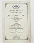 Menu - HMAS Cerberus, Christmas Day 1940; 1940; OWM2015/11