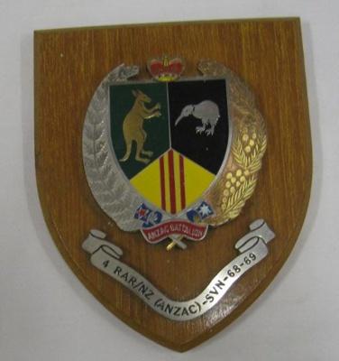 Military plaque; NAAFI; OWM2015/92