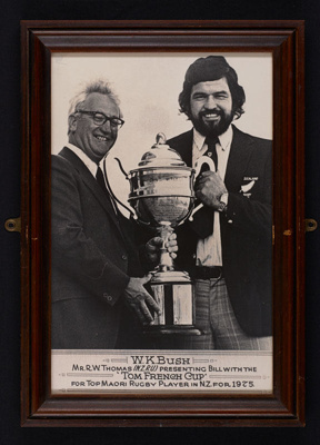 Photo - Bill Bush - Tom French Cup - 1975; 1128