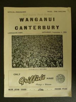 Programme - 1 September 1956