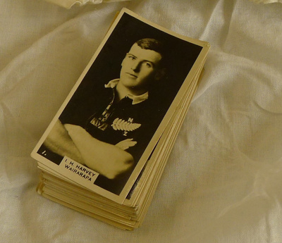 All Blacks cigarette cards - set of 50 from 1920-1930