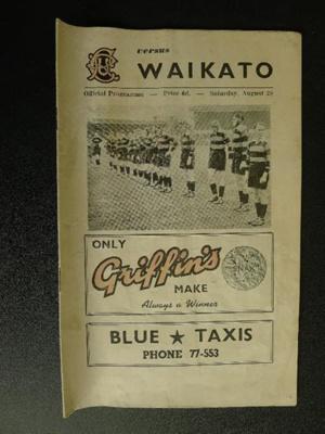 Programme - 28 August [1954?]