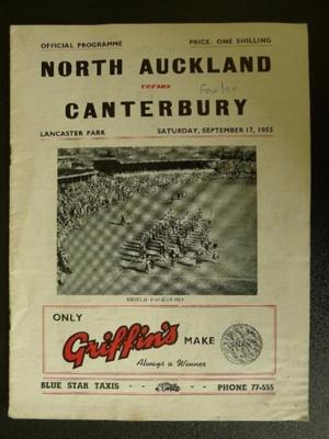 Programme - 17 September 1955
