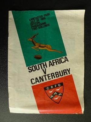Programme - 24 July 1965