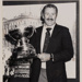Photo - Don Hayes with the South Pacific Cup - 1986; 1103