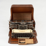 Typewriter, Hammond No 12; Hammond Typewriter Company; 1904?; HP.05P1710A-C