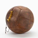 Ball, Football; Unknown maker; 1940-1960