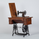 Sewing Machine, Treadle; Sears, Rosebuck and Co; 1880-1900; HP.05P11210