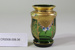 Bohemian Moser small green glass vase; Unknown maker; Unknown; CR2008.008.36