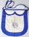 Oddfellows apron; Unknown maker; Unknown; CR1986.043.1