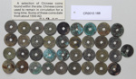 Coins Chinese (37pieces); Unknown maker; unknown; CR2012.188