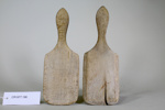 Butter pats (pair); Unknown maker; Unknown; CR1977.196