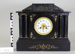 Black marble clock; Unknown maker; Unknown; CR1977.390
