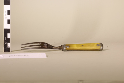 Bone handled fork; Joseph Rodgers & Sons; Unknown; CR1979.065