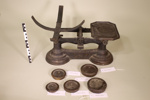 Set of scales and weights; Crane Foundry; Unknown; CR1977.903