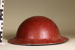 Tin uniform helmet; Unknown maker; Unknown; CR1977.680