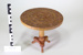 Ornamental Wooden Stand; Unknown maker; CR1977.331