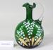 Victorian green glass jug; Unknown maker; Unknown; CR2008.008.45