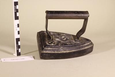 Iron; Unknown maker; Unknown; CR1977.246
