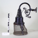 Gas light and gas cylinder; Unknown maker; Prior to 1881; CR1977.724