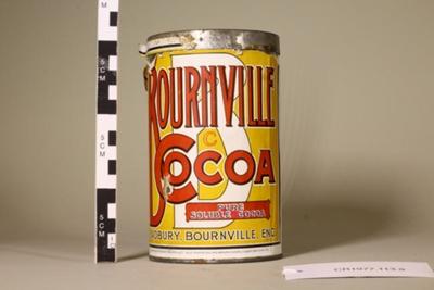 Cocoa tin ; Unknown maker; Unknown; CR1977.113
