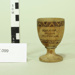 Egg cup; Unknown maker; Unknown; CR1977.099