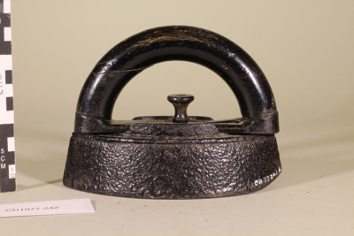 Iron - two part; Unknown maker; Unknown; CR1977.242