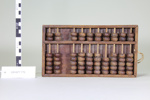 Wooden abacus; Unknown maker; Unknown; CR1977.775