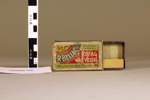 Cardboard matchbox; R. Bell & Co, New Zealand; Early 20th century; CR2003.122