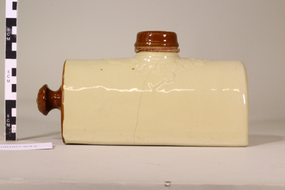 Bed warmer or hot water bottle; Unknown maker; Unknown; CR1977.324