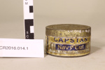 Capstan Navy tobacco tin; W.D. & H.O. Wills; 1880's; CR2016.014.1
