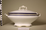 Serving dish; Unknown maker; Unknown; CR1977.270