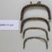Purse clasp fasteners; Unknown; CR2003.171