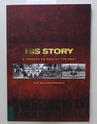 Book, HIS STORY A Tribute To Men Of The Past; Various; 2006; CR2020.021
